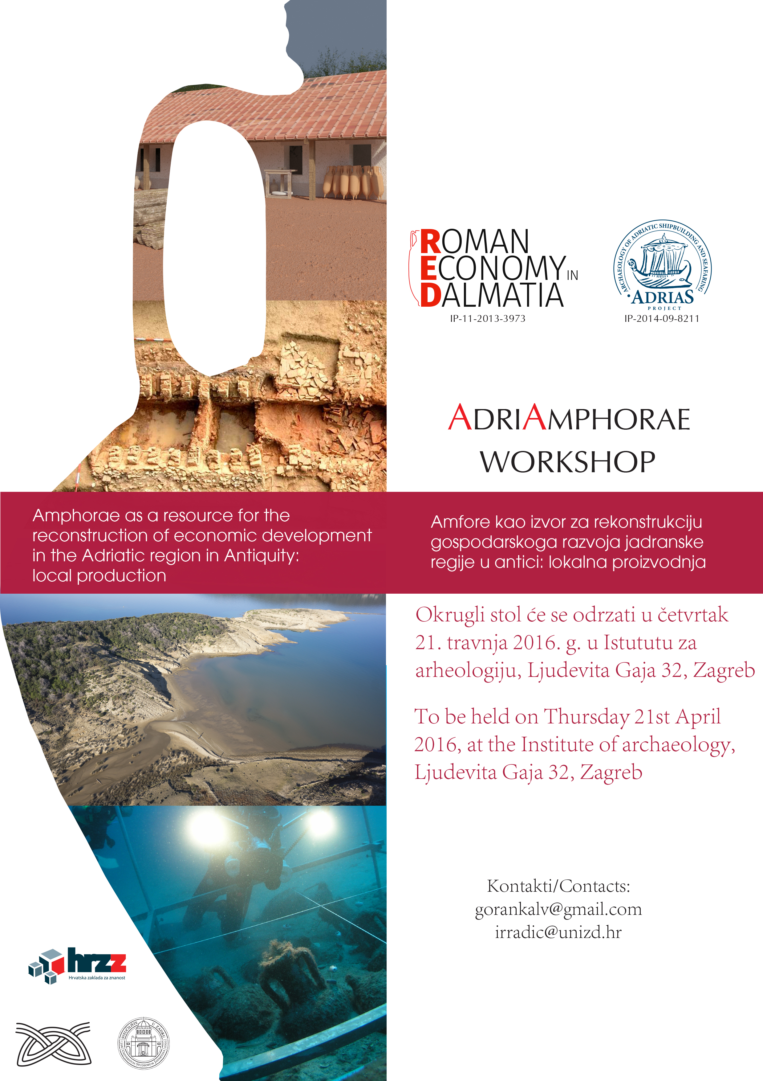 AdriAmphorae - Amphorae as a resource for the reconstruction of economic development in the Adriatic region in Antiquity: local production