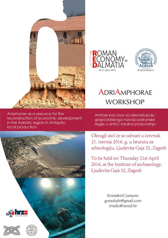 AdriAmphorae - Amfore kao izvor za rekonstrukciju gospodarskoga razvoja jadranske regije u antici: lokalna proizvodnja